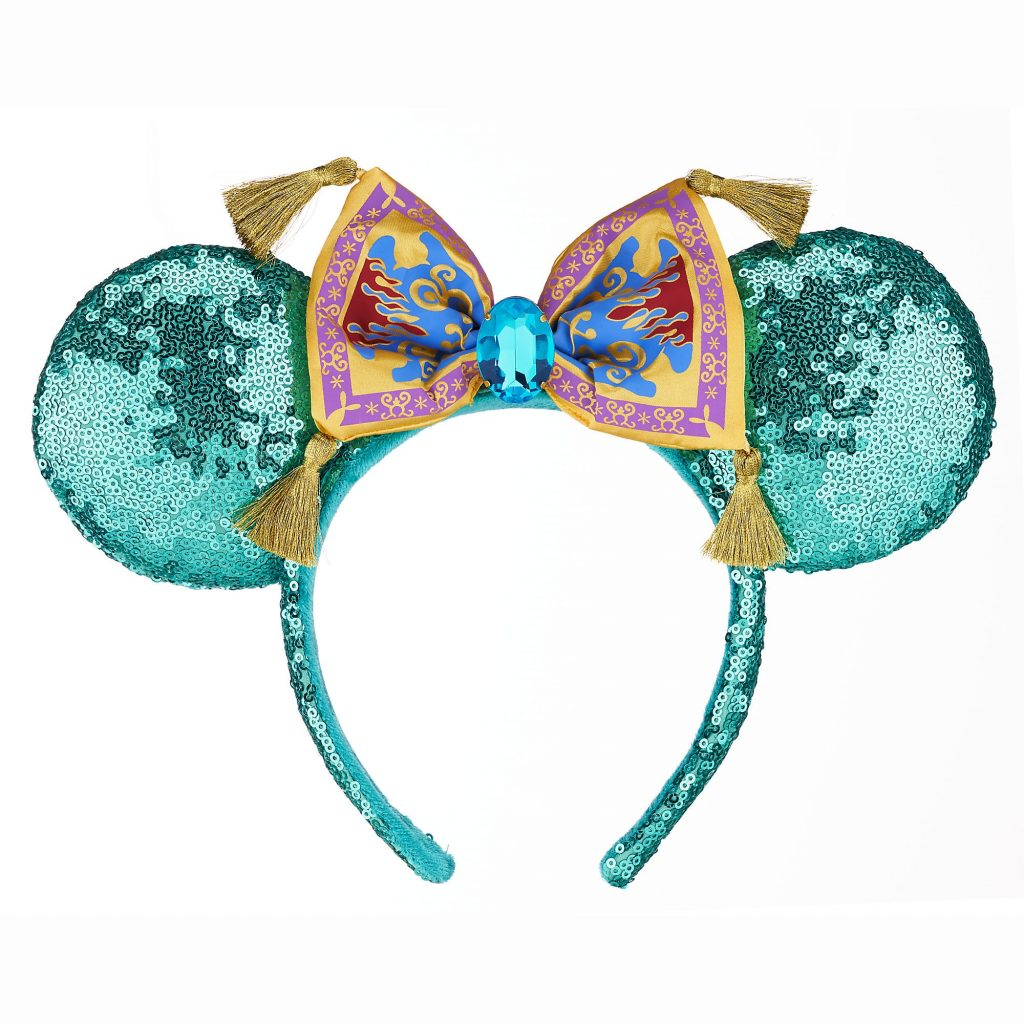 Shop Magic Carpet Mint And Pink Sequin And Floral Ear