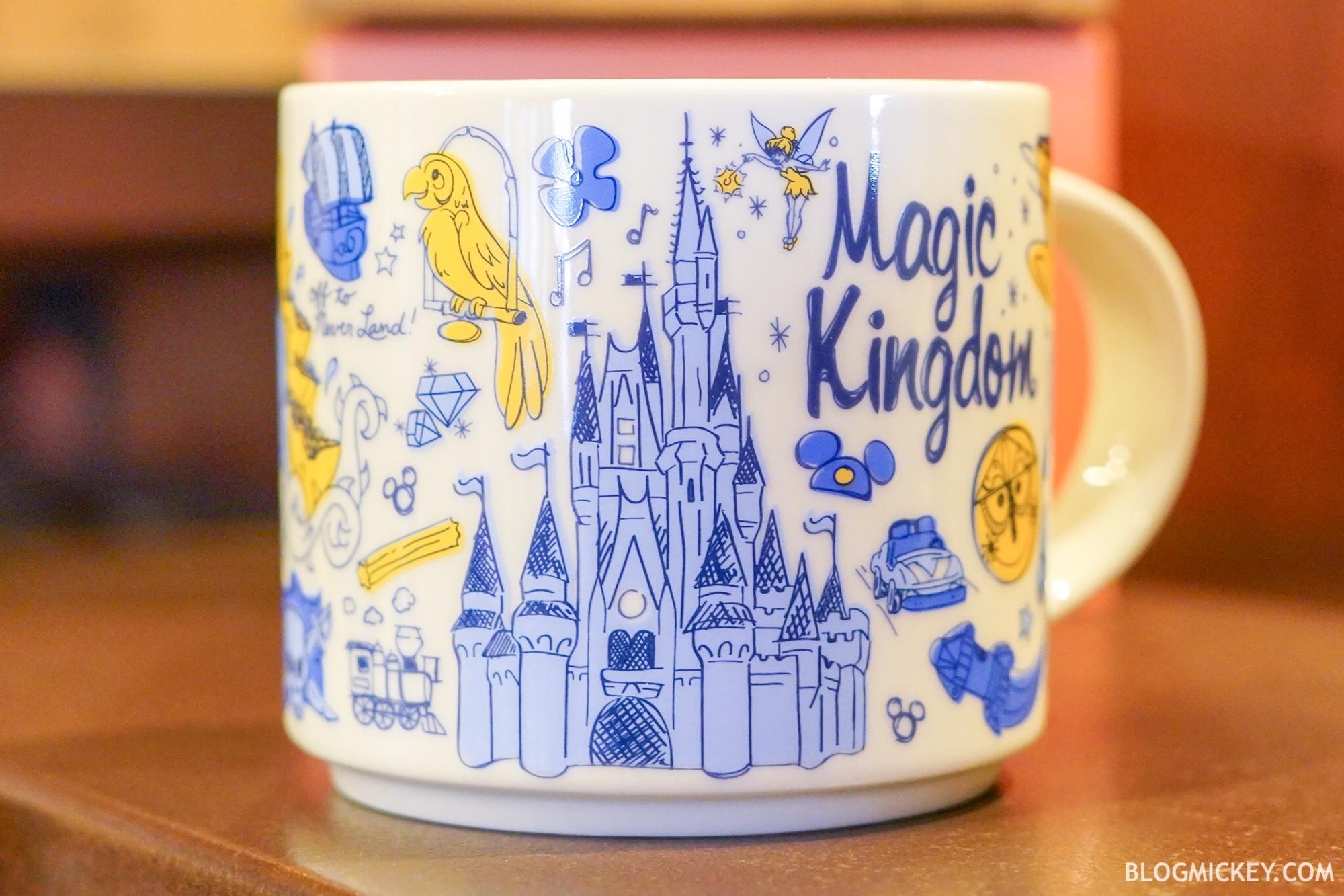 New Starbucks Magic Kingdom Been There Series Mug Arrives