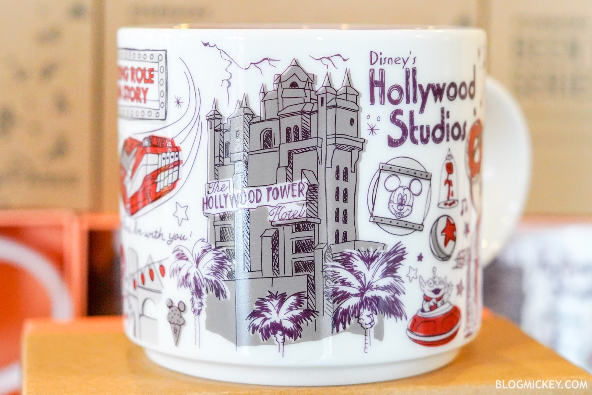New Hollywood Studios Starbucks Been There Mug Available