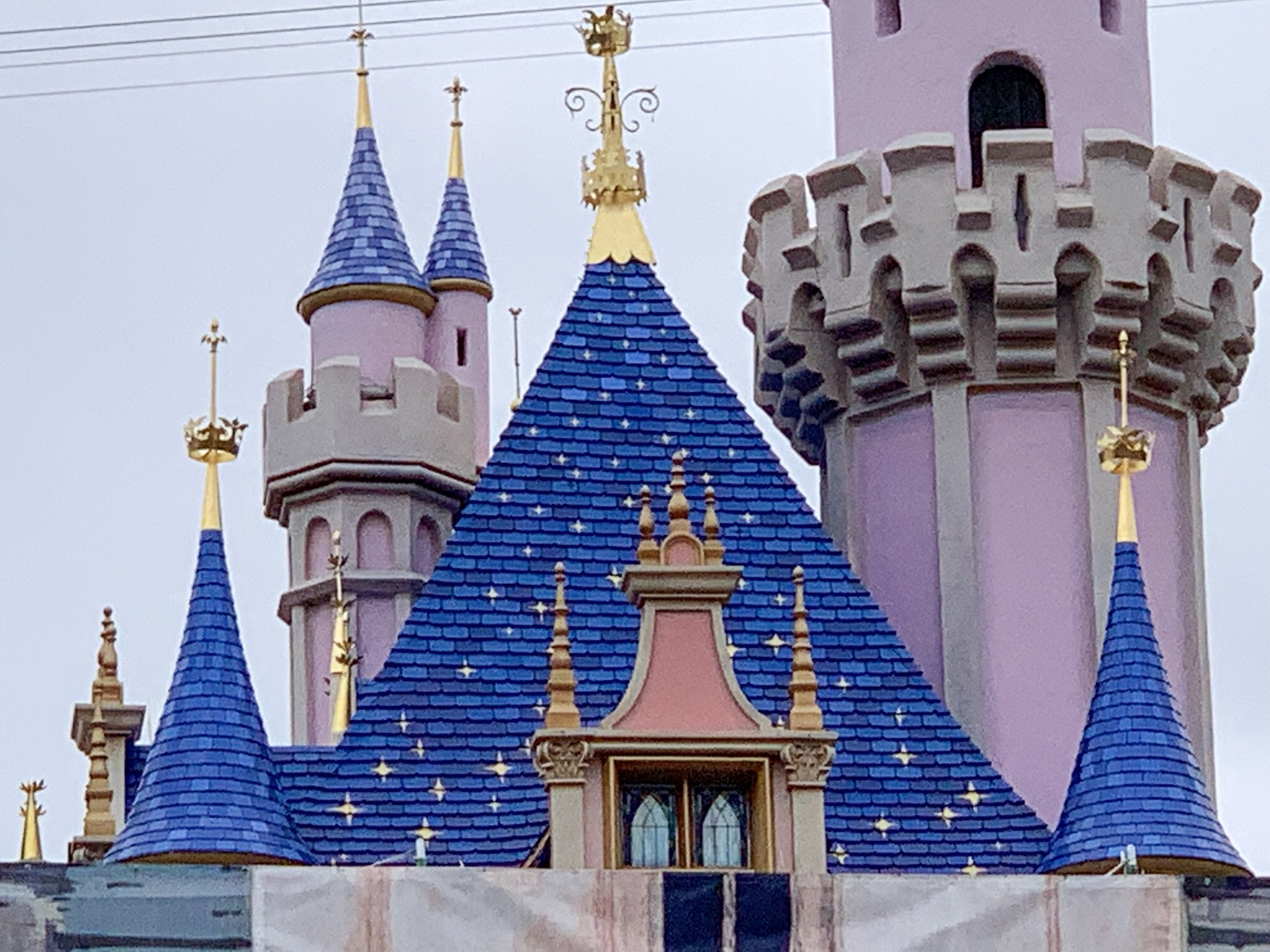 More Spires and New Look Revealed for Sleeping Beauty Castle in Disneyland
