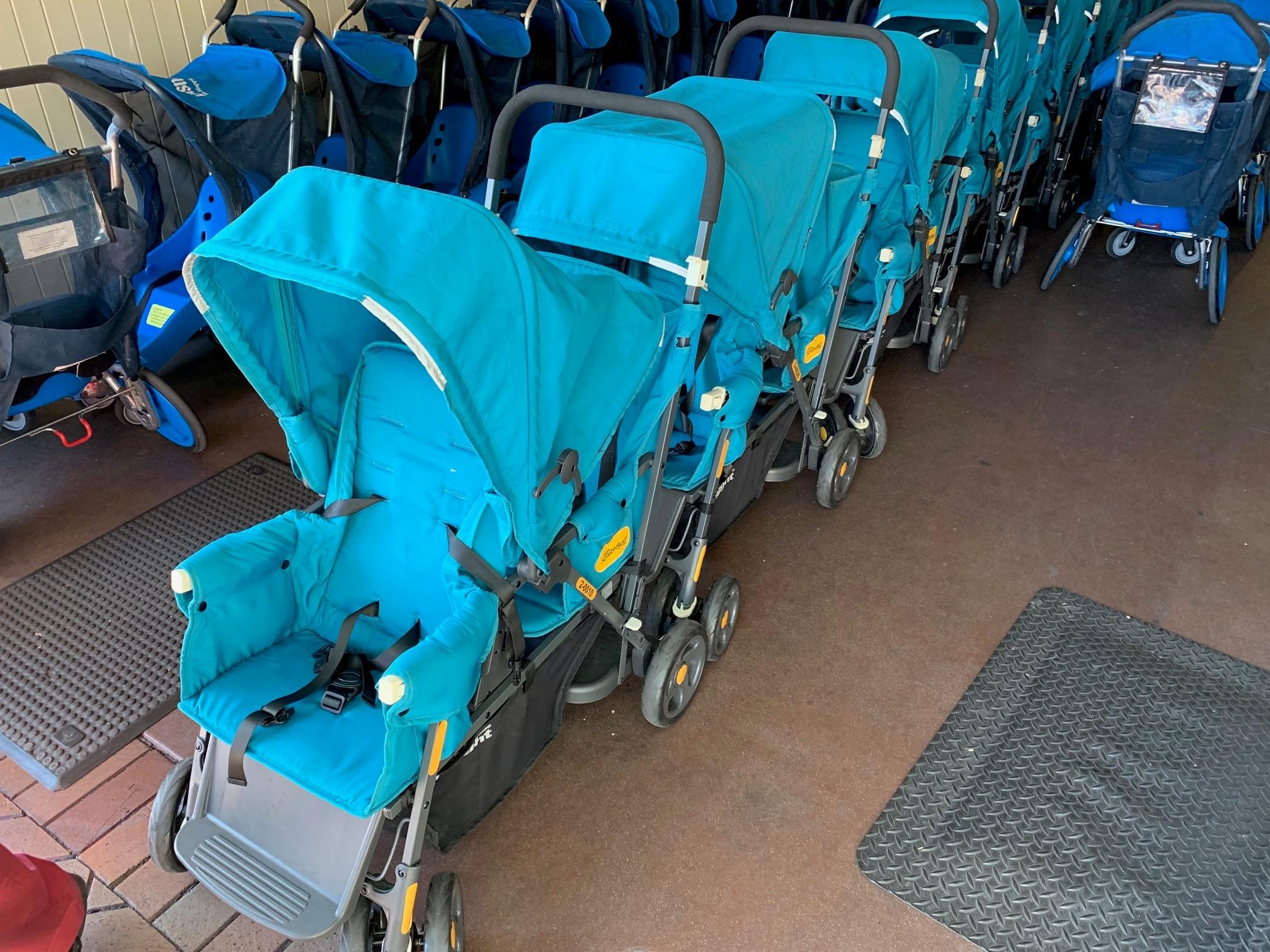 Disneyland Debuts New Double Seat Rental Strollers to ...