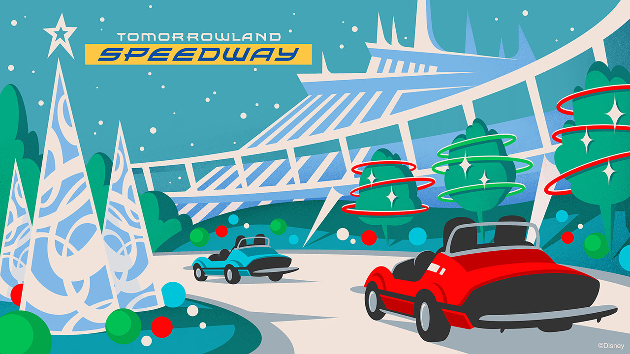 Christmas Attraction Overlays Coming to Tomorrowland