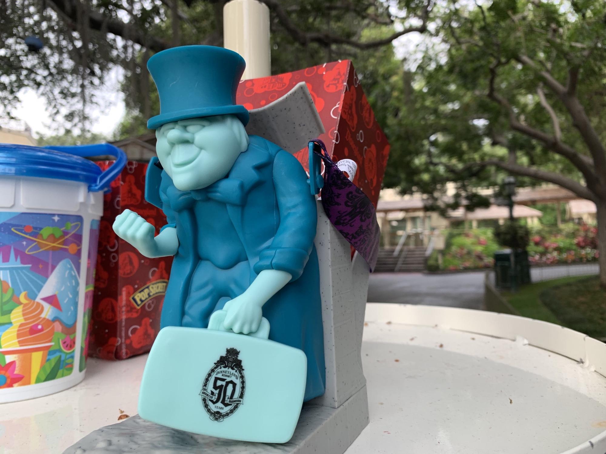 Disneyland Halloween Popcorn Bucket 2019.Hitchhiking Ghost Phineas Popcorn Bucket Debuts In