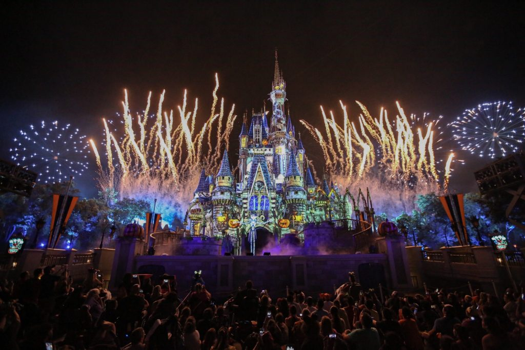 Full 'Disney's Not-So-Spooky Spectacular' Fireworks and