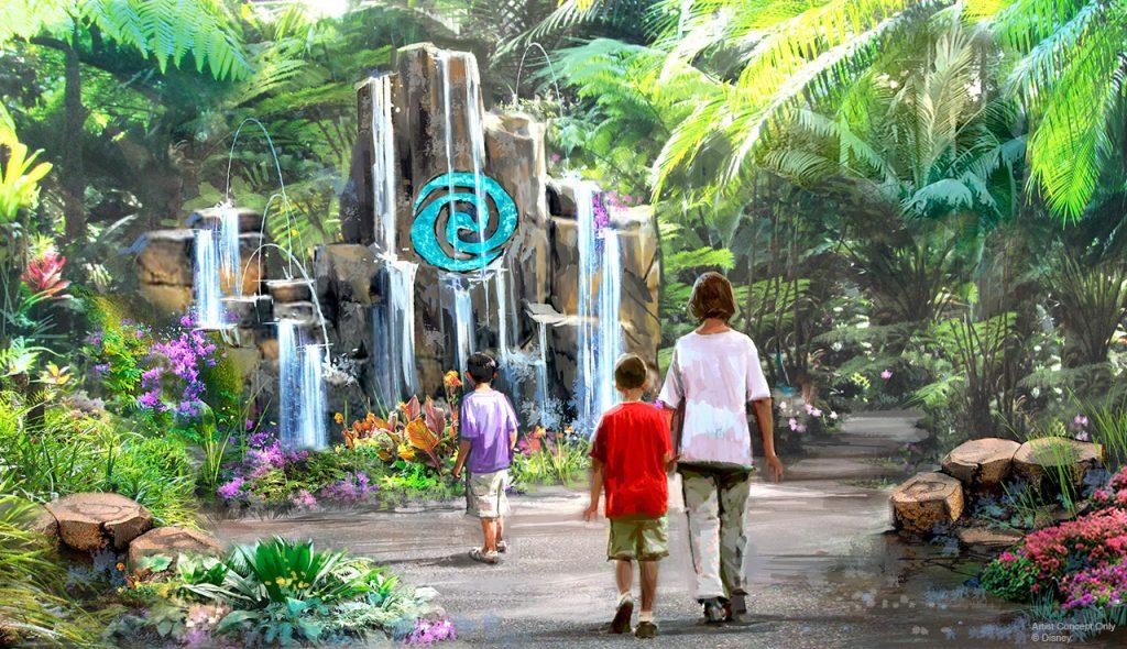 Journey of Water concept art