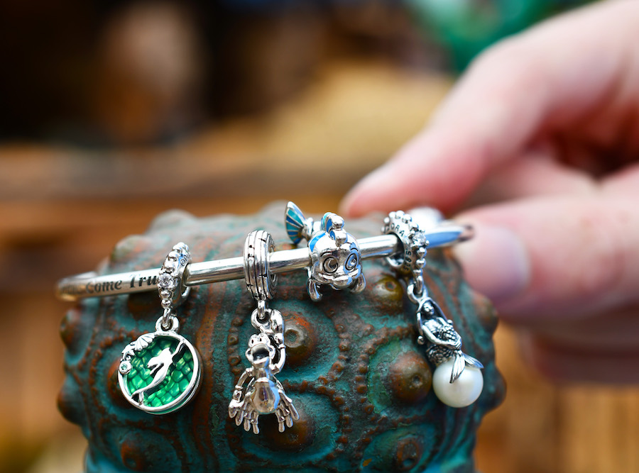 The Little Mermaid, Princess and the Frog and More Pandora Charms ...
