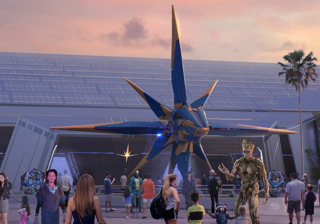 Aerial Photos Reveal Construction Work for Xandarian Nova ...