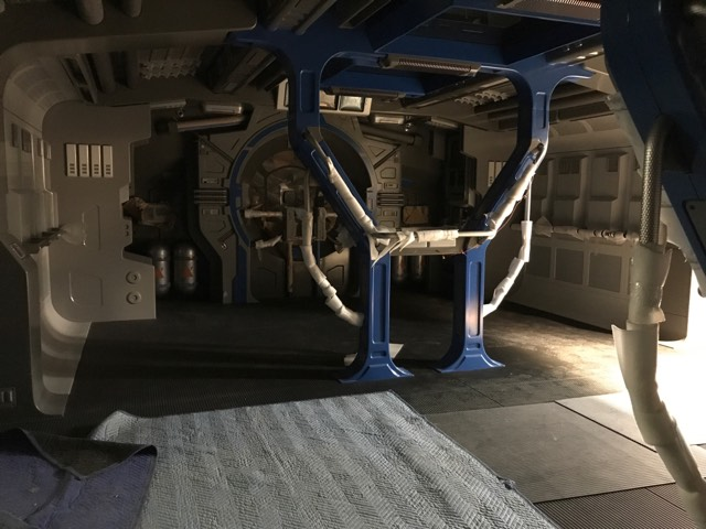 Leaked Photos Show Interior Of Resistance Transport Ship For Rise Of The Resistance Attraction