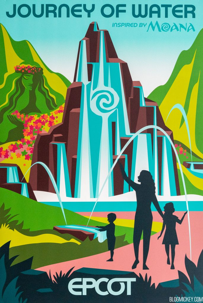 Journey of Water attraction poster