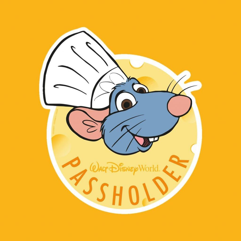 Complementary Chef Remy Annual Passholder Magnet Now Available At Epcot