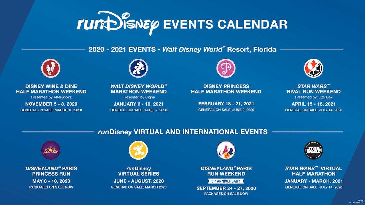 Disneyland Halloween 2020 Dates When Released runDisney Releases 2020 2021 Schedule and Signup Dates; New