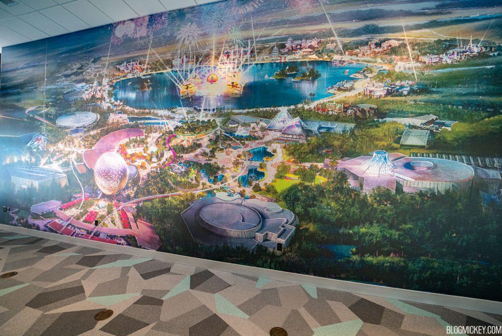 Epcot overhaul concept art