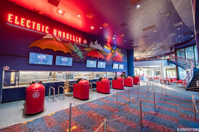 """""""Taste Track Burgers and Fries"""" Kiosk Opening Tomorrow; Electric Umbrella to Close for Refurbishment Soon"""