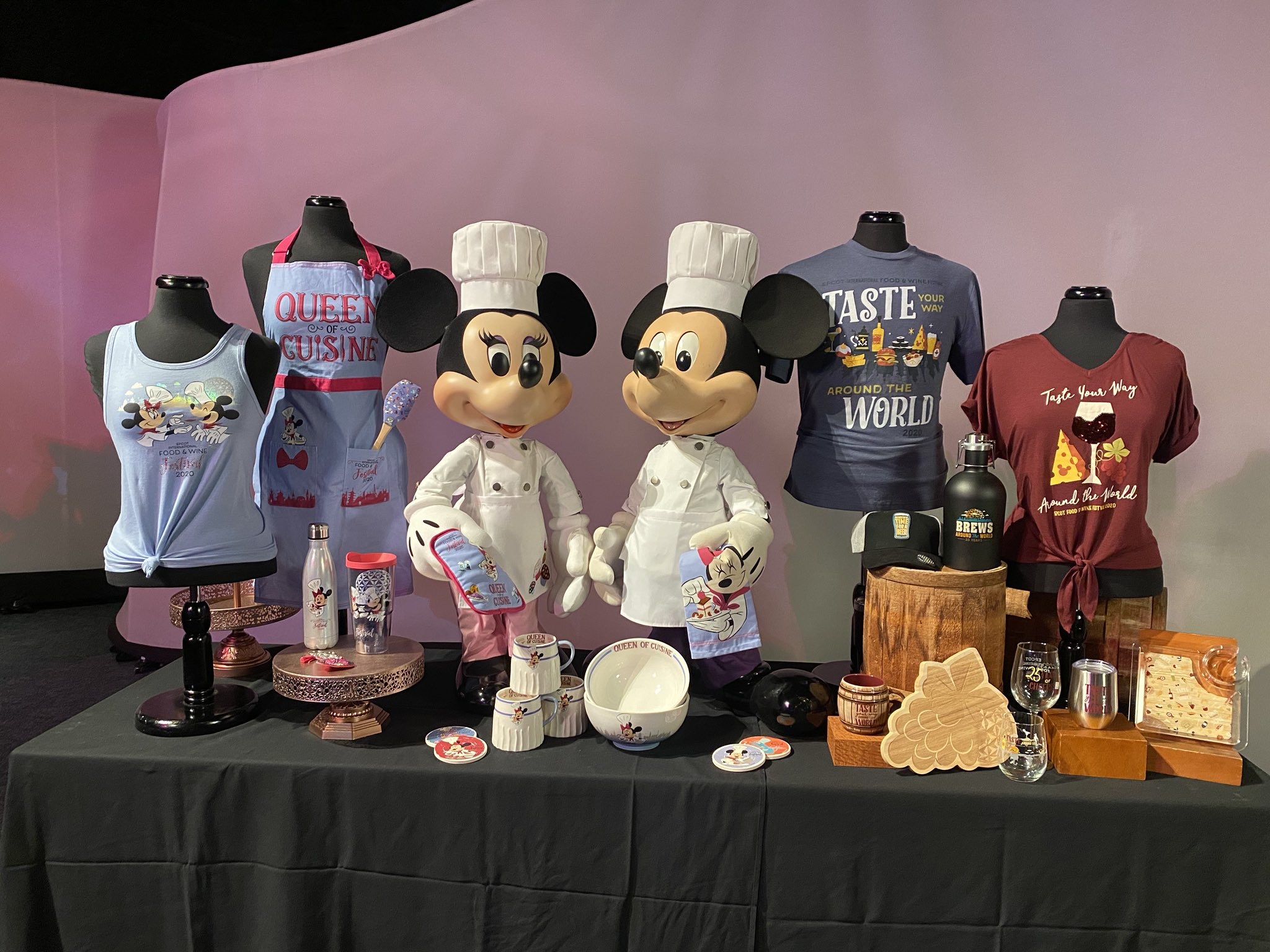 Epcot Christmas Foods 2020 First Look at EPCOT Food and Wine Festival Merchandise Coming
