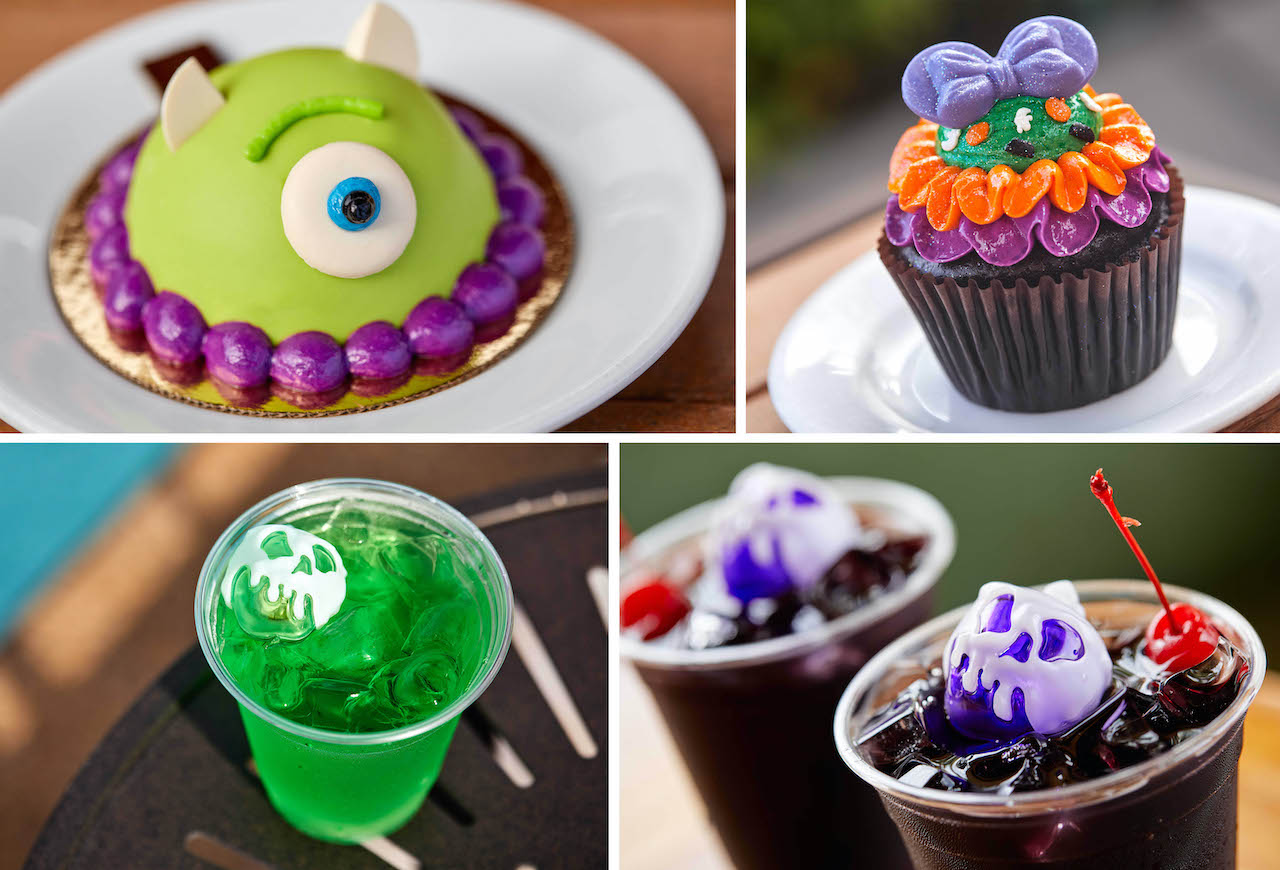 2020 Disney Halloween Cupcakes Halloween 2020 Eats and Treats at the Disney World Hotels