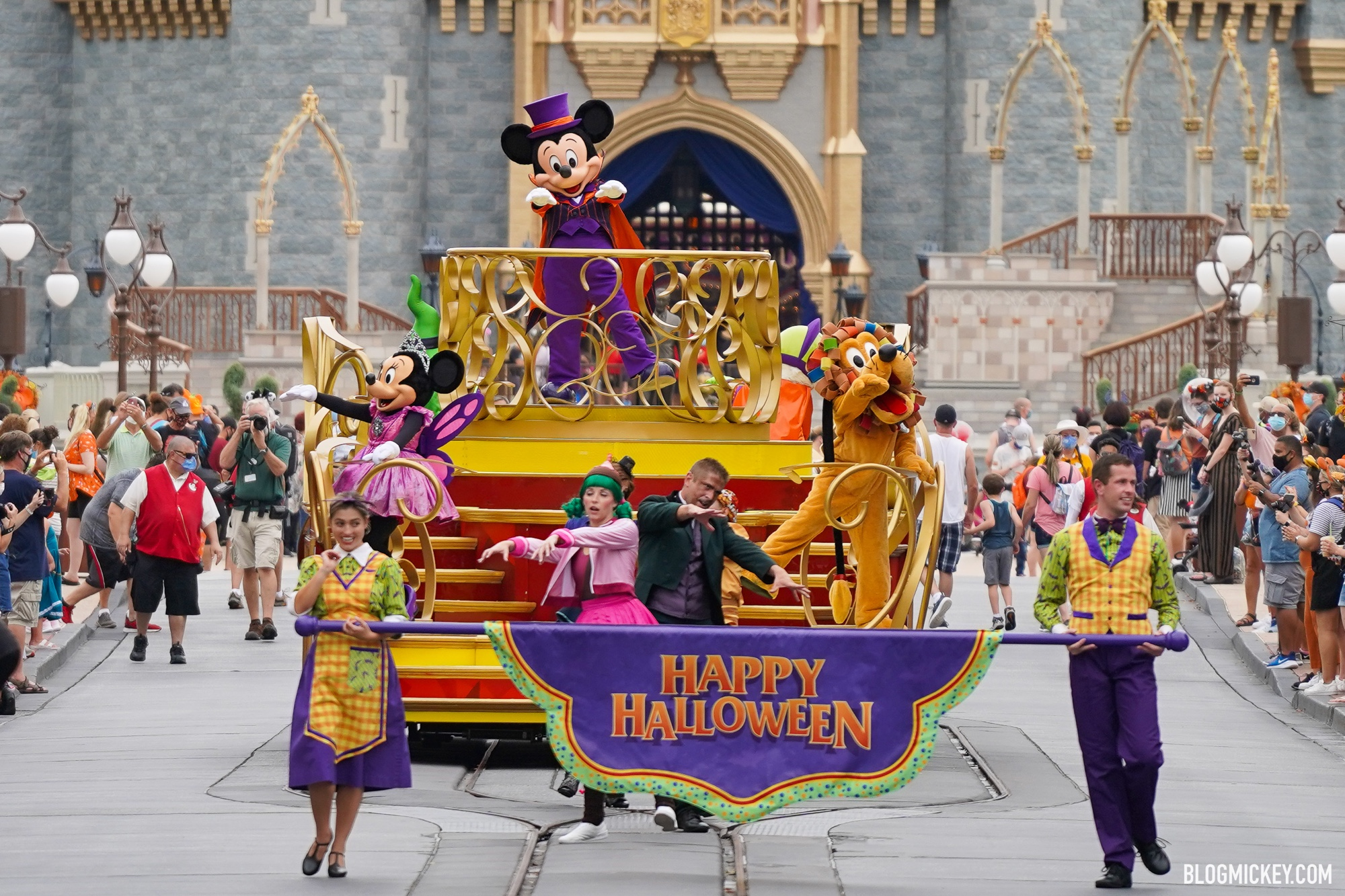 When Is Halloween 2020 Disney Paraide New Magic Kingdom Halloween Cavalcades Only Run Certain Days of